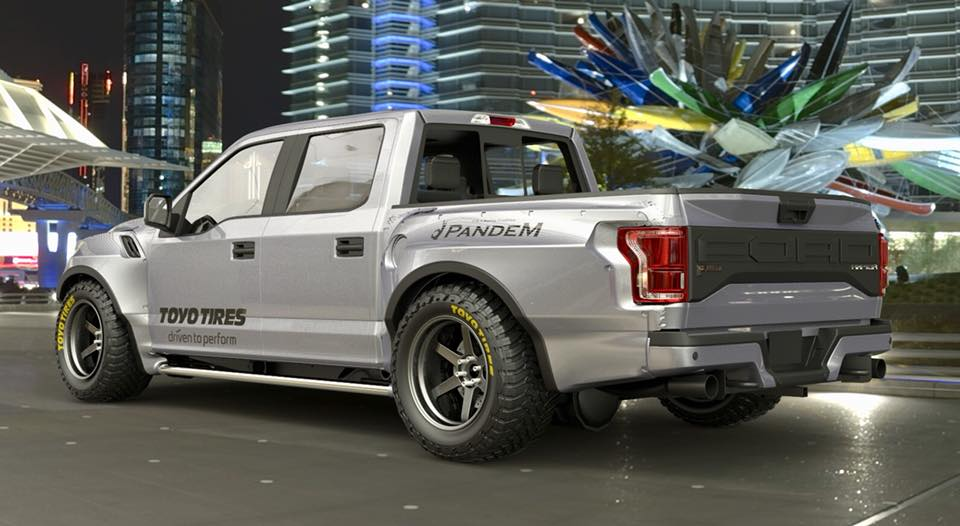 pandem ford raptor wide body kit pancross rocket bunny pandem