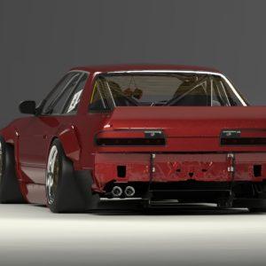 Rocket Bunny Nissan S13 Silvia Kit 180sx Wide Body Kit Pancross
