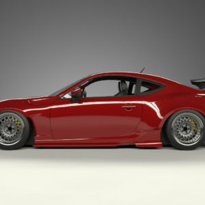 rocket bunny toyota subaru frs brz ft 86 ver 1 wide body kit