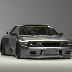 PANDEM NISSAN R32 GTR Wide body kit